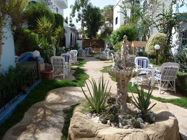 The garden at the hotelPhoto: Al Gezirah Gardens Hotel